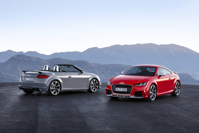 © Audi / Audi TT RS Coupé und Audi TT RS Roadster