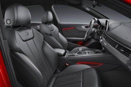 © Audi AG / Der neue Audi S4 / Colour: Misano Red / Interior