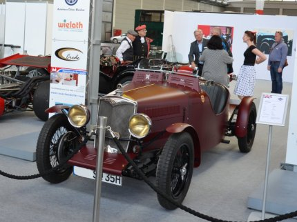 © MotorNews kw / Klassikwelt Bodensee 2016_Old English Style / Riley S Spezial Baujahr 1935