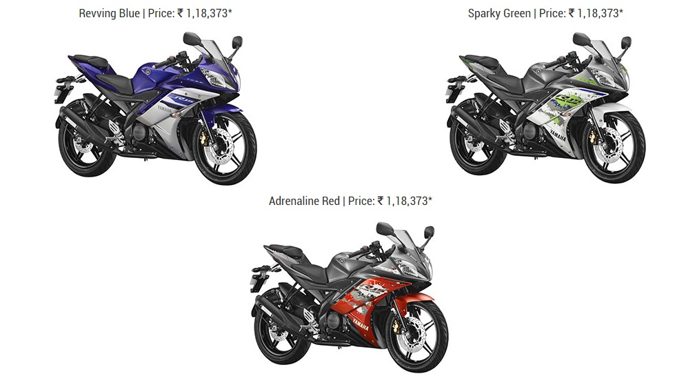 Yamaha R15 V2.0 gets new colour options, prices hiked by