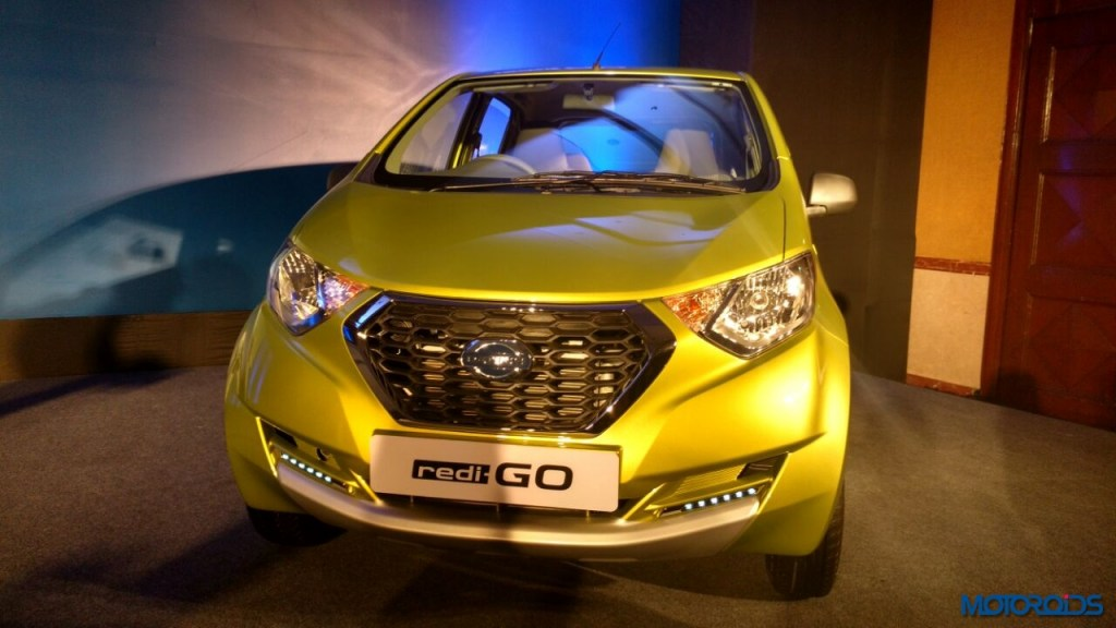 LIVE: Datsun redi-GO launched in India; prices starting ...