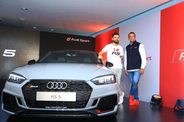 Audi RS5 Coupe launched in India, Virat Kohli becomes the first owner
