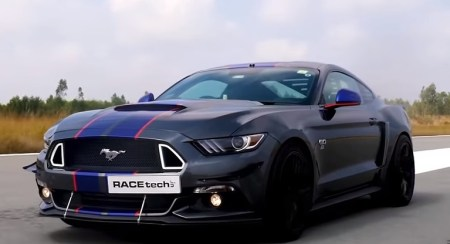 VIDEO: India's Most Powerful Ford Mustang GT Is A 727 HP Monster