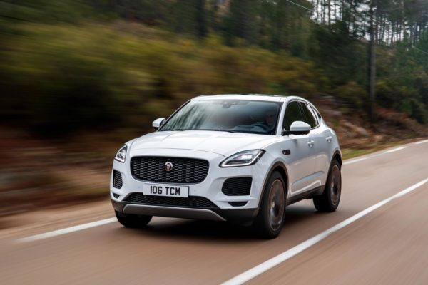 Jaguar E-Pace updated with new engine, suspension and AI tech