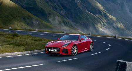 New Jaguar F-TYPE SVR India Bookings Open; Priced At INR 2.65 Crore