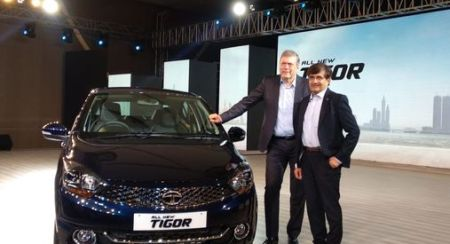 Starting From INR 5.20 L, The Facelift of the Tata Tigor is Here