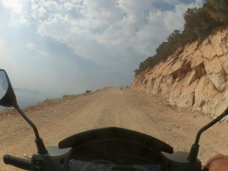 Putin off-road in drum spre capul Lefkas