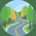 Drumuri prin padure