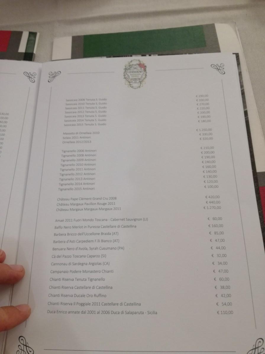 Lista preturi vin