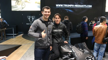 James Toseland @ Triumph