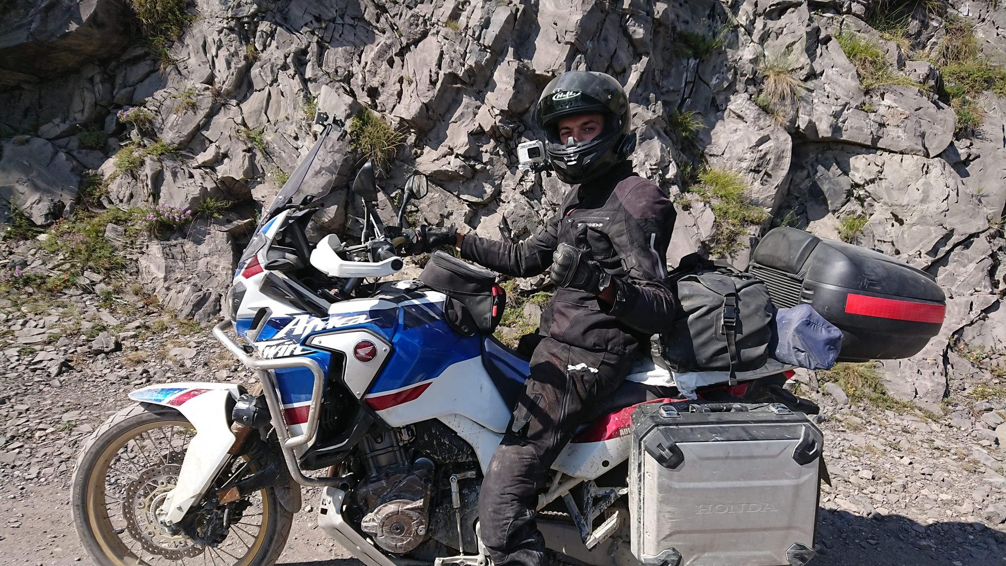 [Jurnal de călătorie]Mateusz Mocydlarz – doi ani la rând în România pe motocicletă