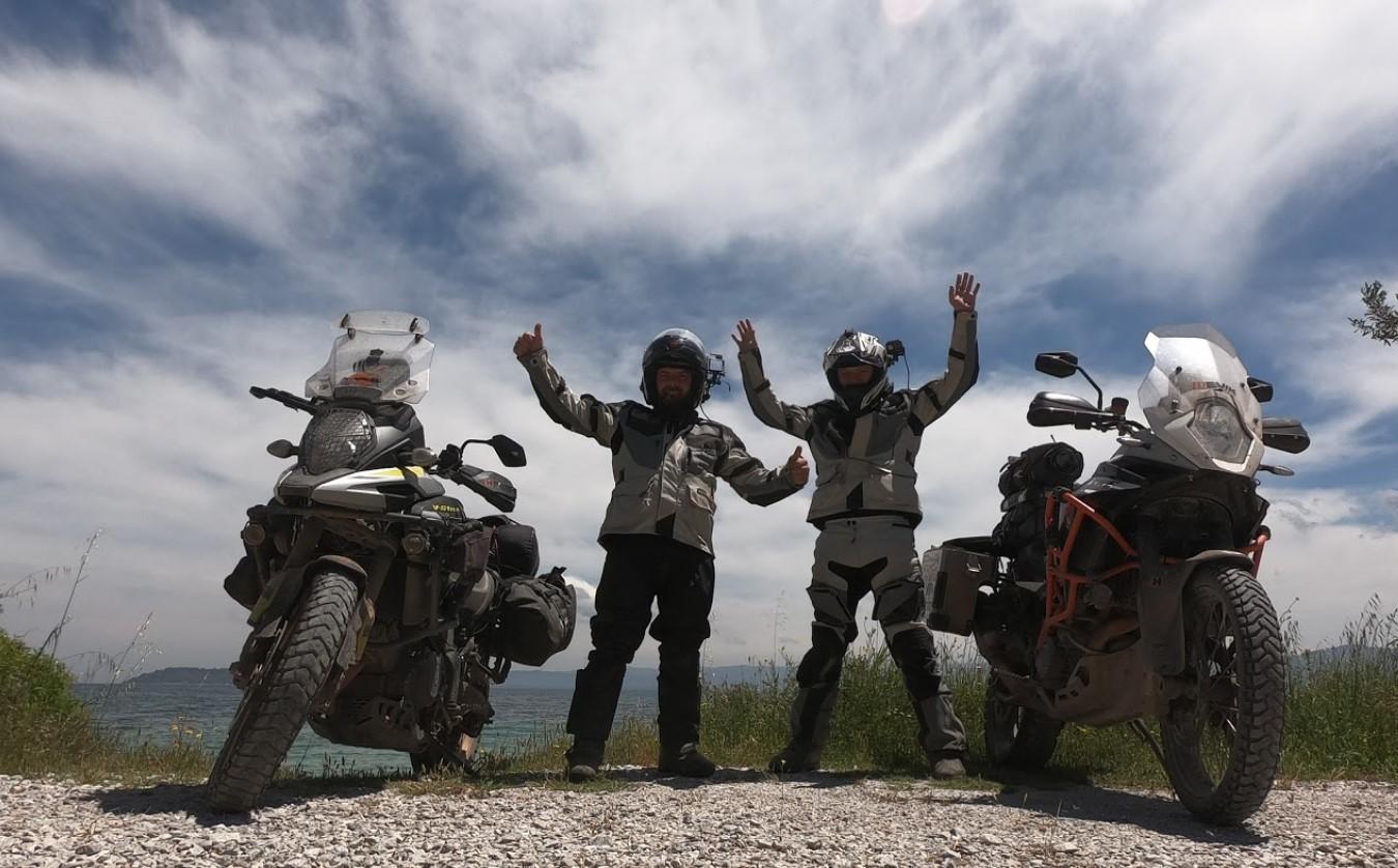 [Jurnal de călătorie] Mihai și Vlad de la motorcycling.to în Grecia pe TET