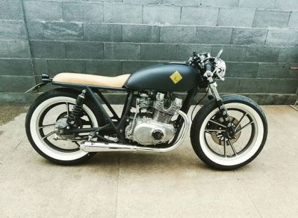 Una din creatiile lui Gimmoto - Suzuki GS-400