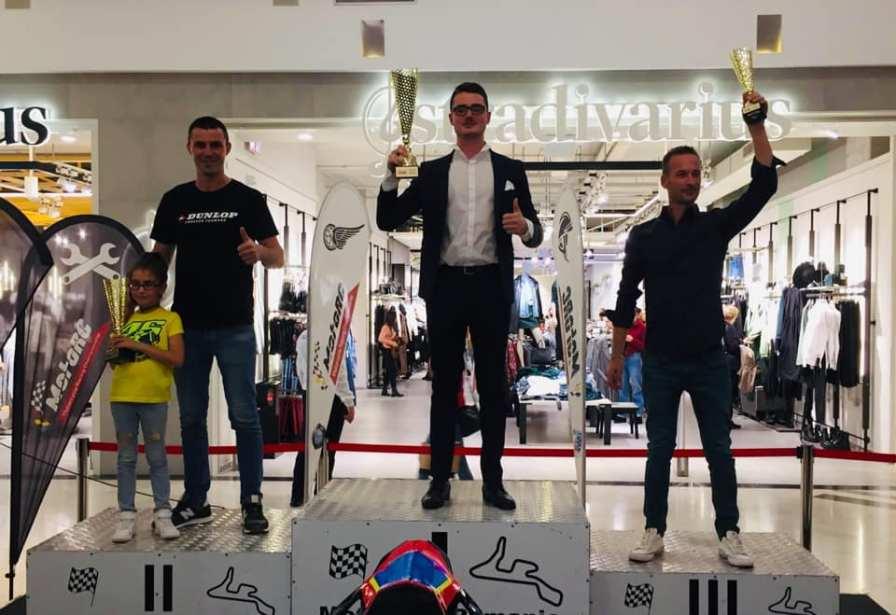 Florin Barladeanu, Vlad Neaga, Adrian Petrovici la premierea MotoRC