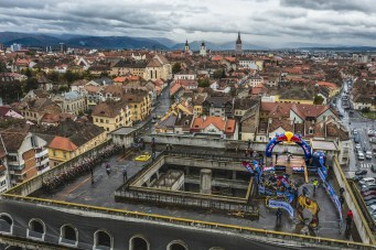 Finish line of Red Bull Romaniacs in Sibiu, Romania on October 31, 2020 // Mihai Stetcu/Red Bull Content Pool // SI202010310495 // Usage for editorial use only //