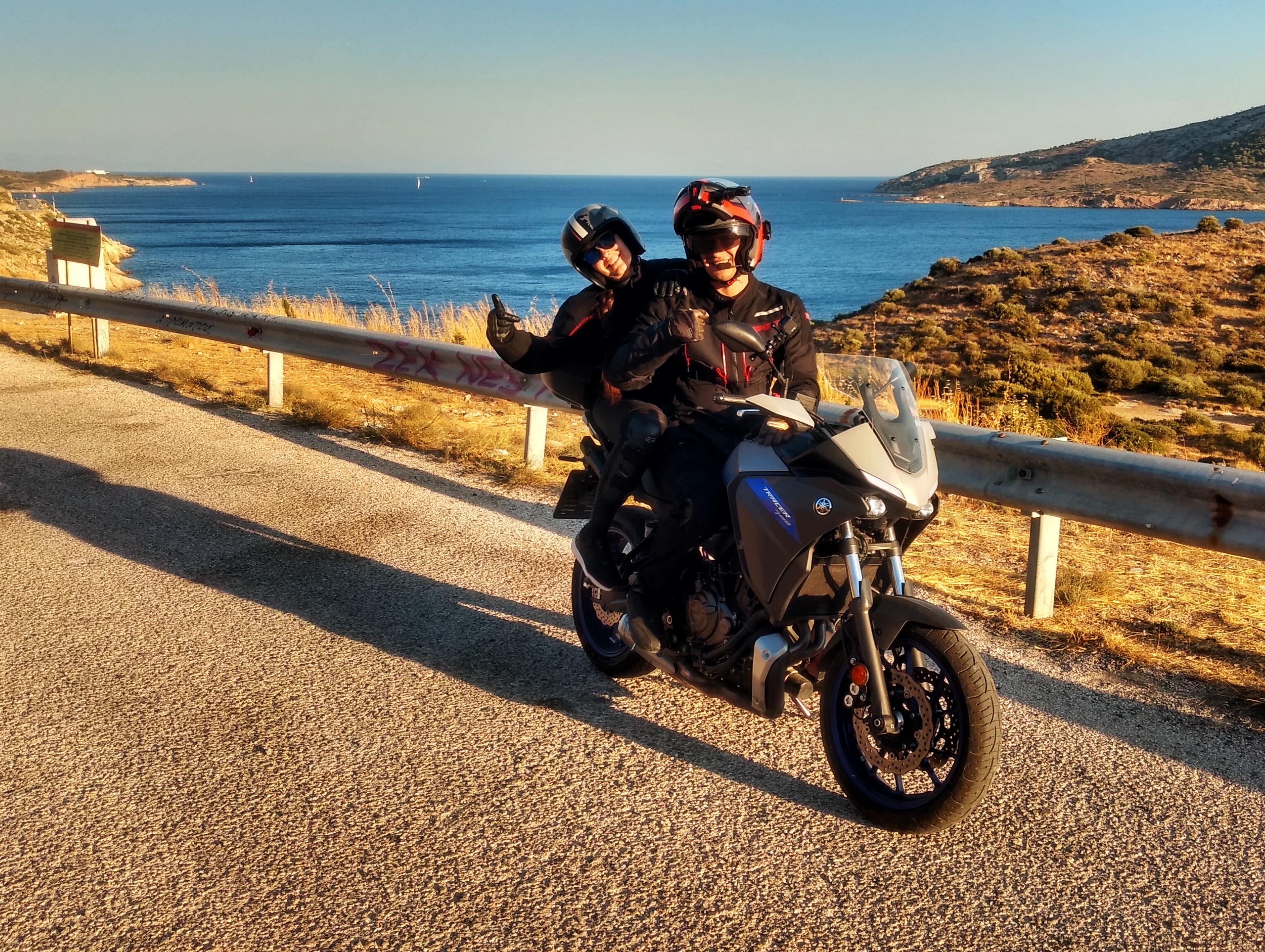 [Jurnal de motoVacanță]Grecia pe două roți : Atena și insula Andros