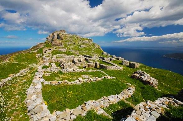 Castelul Faneromeni, sursa:andros.travel