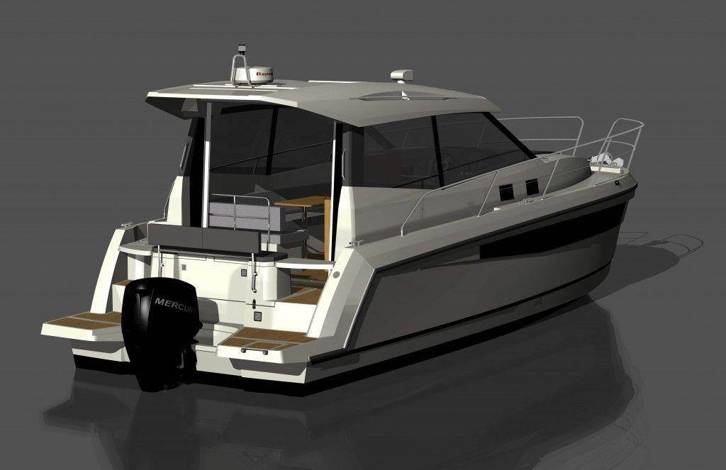Nadchodzi Jacht Spacerowy 989 Platinium Magazyn Jachting Motorowy Odzie Motorowe Testy