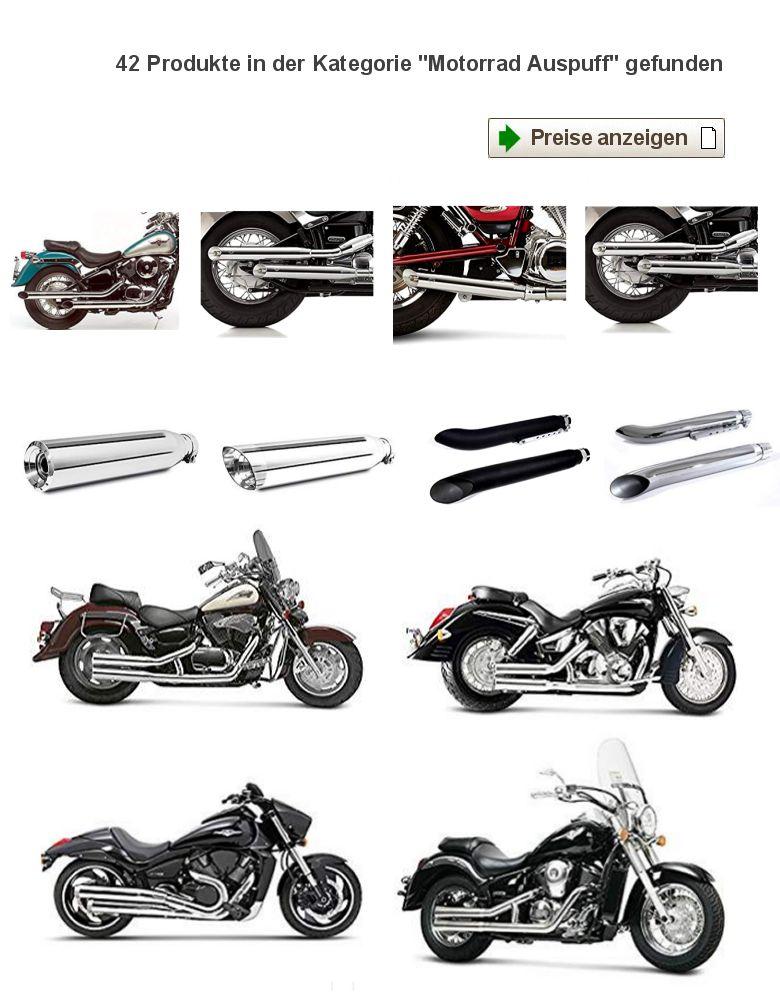 SUZUKI VS 1400 Schalldämpfer / Auspuff (Motorrad-Teile
