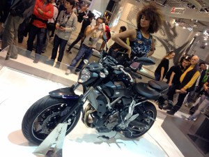 Blot 74.990 kr. bliver prisen, når Yamaha's nye MT-07 lander i butikkerne til marts.