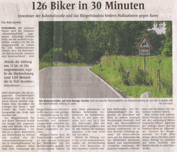 Westfälische Nachrichten - aus Tecklenburg