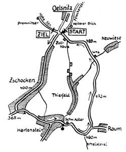 1924 Länge: ca. 15 km Oelsnitz-Hartenstein- Zschocken-Oelsnitz