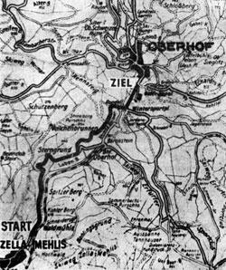 1950 Länge: 7,4 km Bergrennen