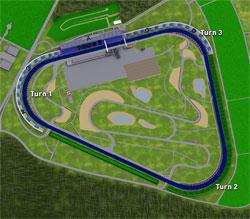 2000-heute Länge: 3,200 km Trioval für Automobile