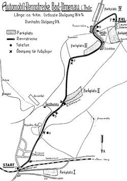 1927-1934 Länge: 4 km Start am Bahnhof
