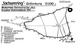 1933 Länge: 12 km Start u. Ziel in Klingenberg