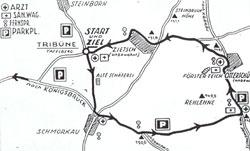 1928-1930 Länge: 9,4-9,7 km Rundenlänge 1928: 9,7 km Rundenlänge 1930: 9,4 km