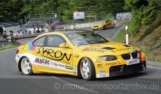 Drifter Alexander und Corinna Gräff aus Burladingen BMW M3 und MB E500