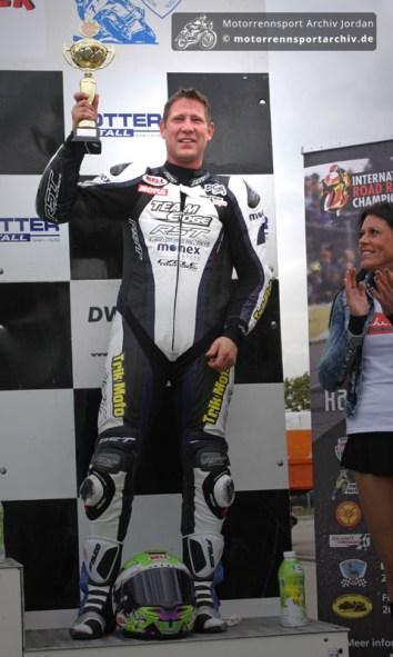 Gary Johnson belegte den dritten Platz im zweiten OPEN-Rennen