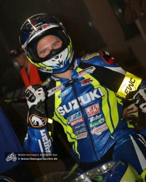 Anthony Delhalle brachte Platz 2 ins Ziel und sicherte damit den WM-Titel für das Suzuki Endurance Racing Team