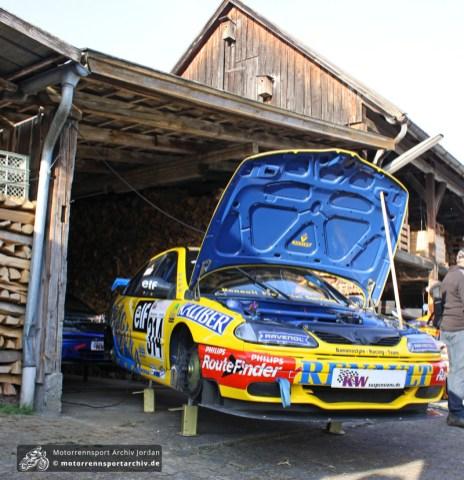 Nach einem Jahr Pause waren die Rennwagen zurück im Mickhausener Fahrerlager.