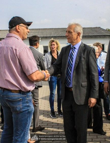 Sachsens Ministerpräsident Stanislaw Tillich stattete dem Frohburger Dreieck heute einen Besuch ab.