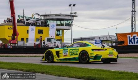 Für den Leipziger Marvin Kirchhöfer und seinen Teamkollegen Indy Dontje endete das Heimrennen mit einem Podestplatz.