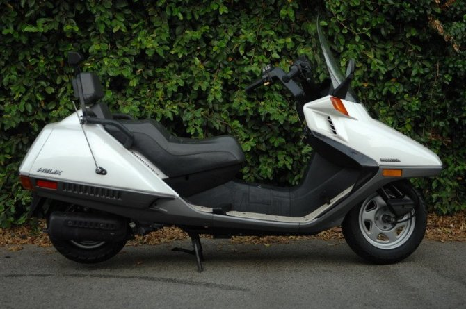 honda helix  motor scooter guide