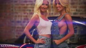 Nascar pilot girls Angela e Amber Cope  MotorShockcom