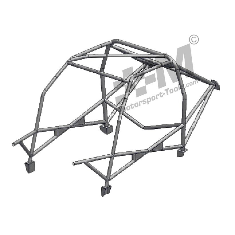 Ford Escort Mk2 Safety Devices Weld in Roll Cage T45