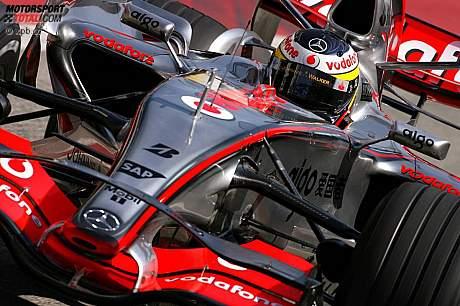 Novo bico da McLaren