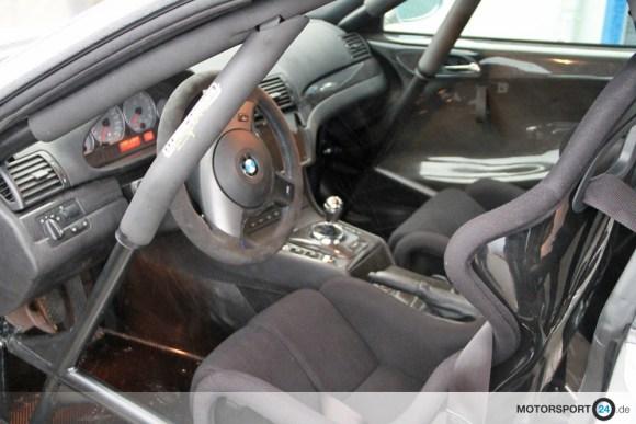 BMW M3 E46 Clubsport Auto Innenansicht