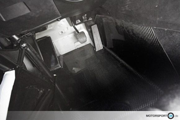Ansicht BMW M3 E46 Carbon Bodenplatte