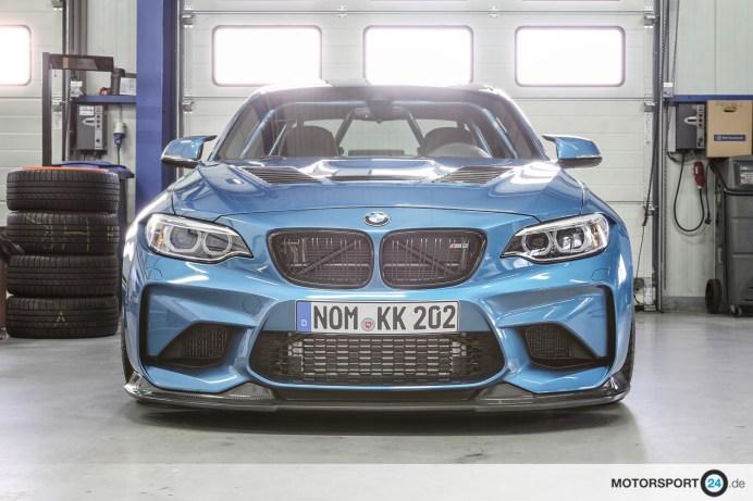 BMW M2 F87 GT Lippe GTR Motorhaube