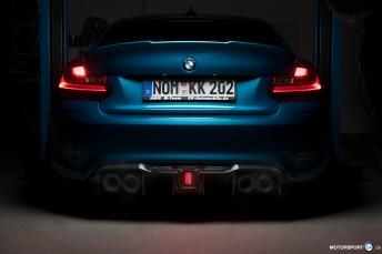 BMW M2 F87 Heckdiffuser DTM Style