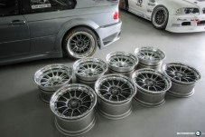 "BMW M3 E46 NTM 18"" Clubsport Race Felgen"