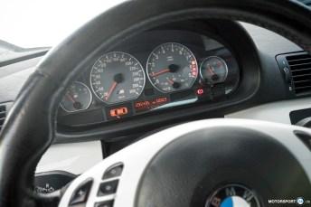 BMW M3 E46 Rennwagen Tacho