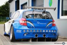 Breitbau BMW E87 GTR Rennwagen zu verkaufen