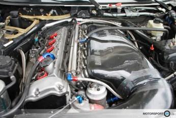 S54 Motor im BMW E87 GTR