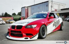 BMW M3 E92 GT4 Lippe + Canard Wings